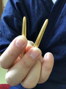 東広島の整体院 笑凛庵の金の棒